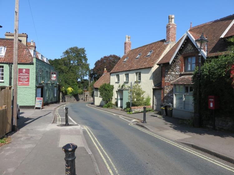 The centre of Henbury village