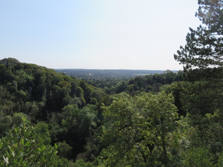 The view from Lovers' Leap, with Goram's Chair on the left
