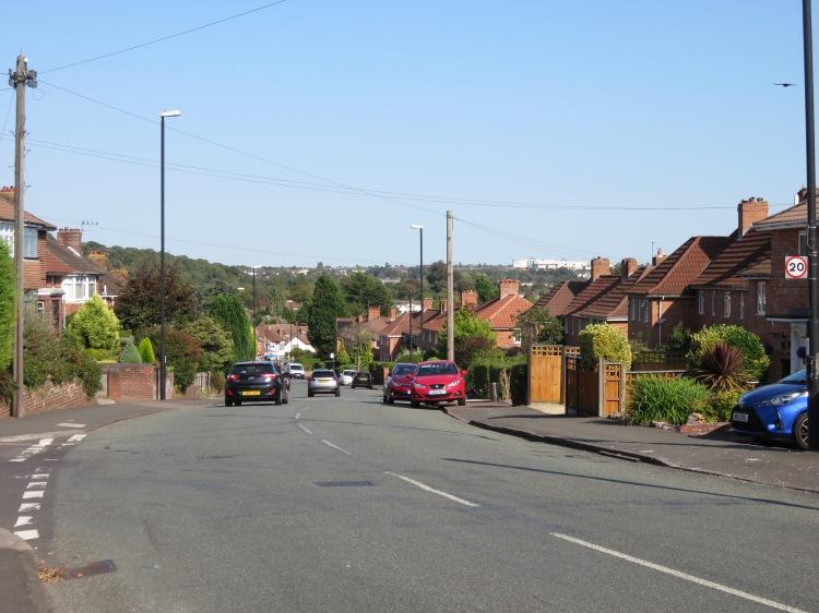 Skyline view from Westbury Lane