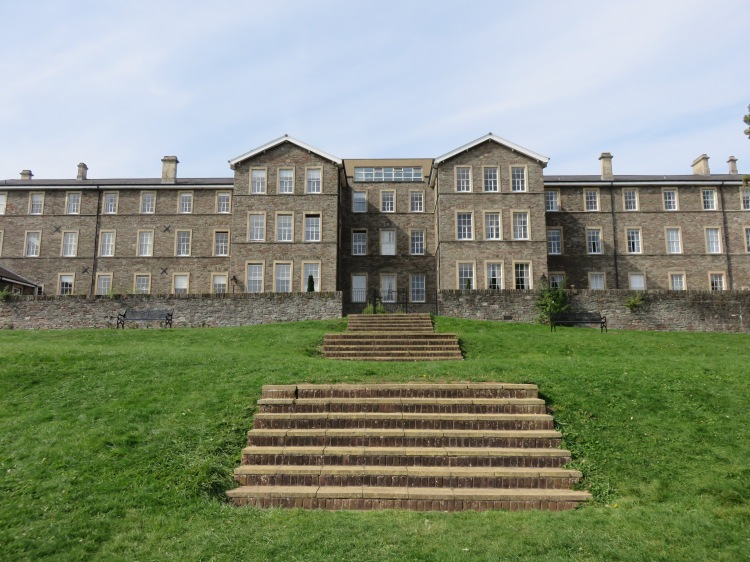 The orphanage dominates Ashley Down Green