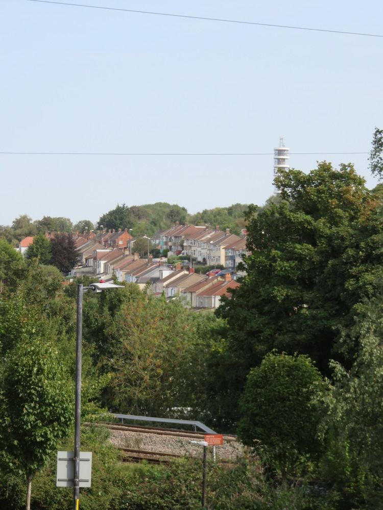 View of Lockleaze and Purdown from Lilstock Avenue