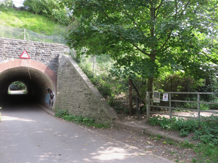 The access to Narroways Hill at Boiling Wells Lane