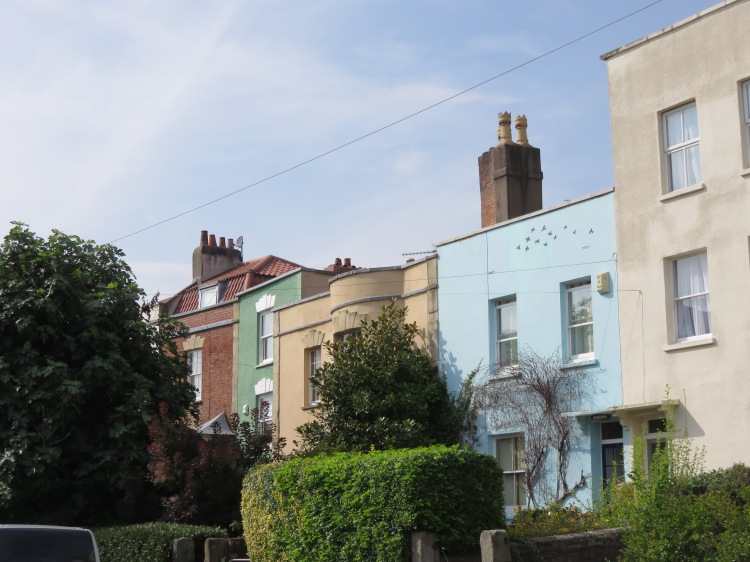 Georgian houses at Richmond Road