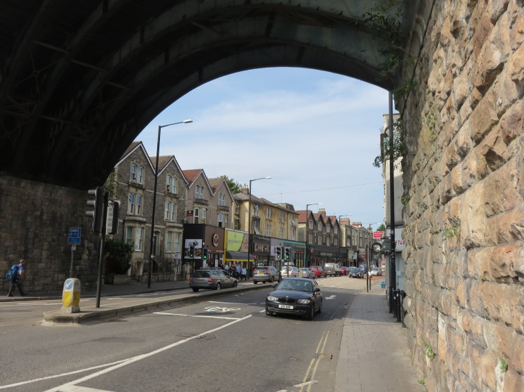 Cheltenham Road from The Arches