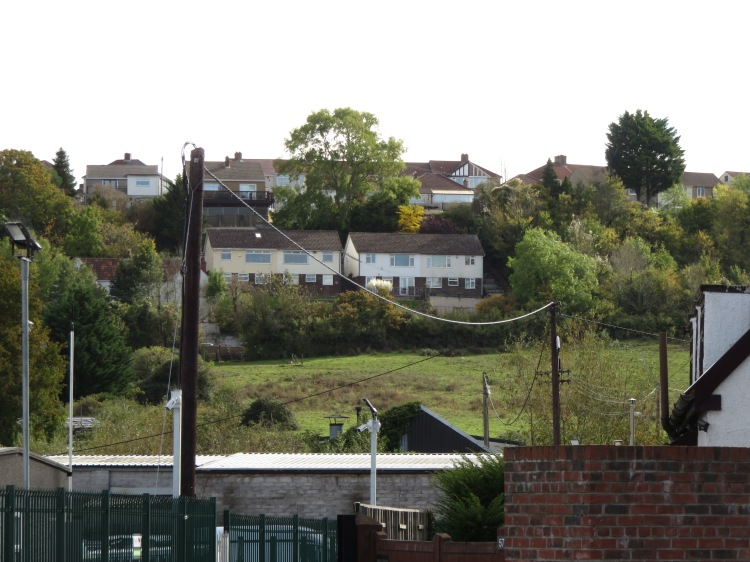 View to Novers Hill from Hartcliffe Way