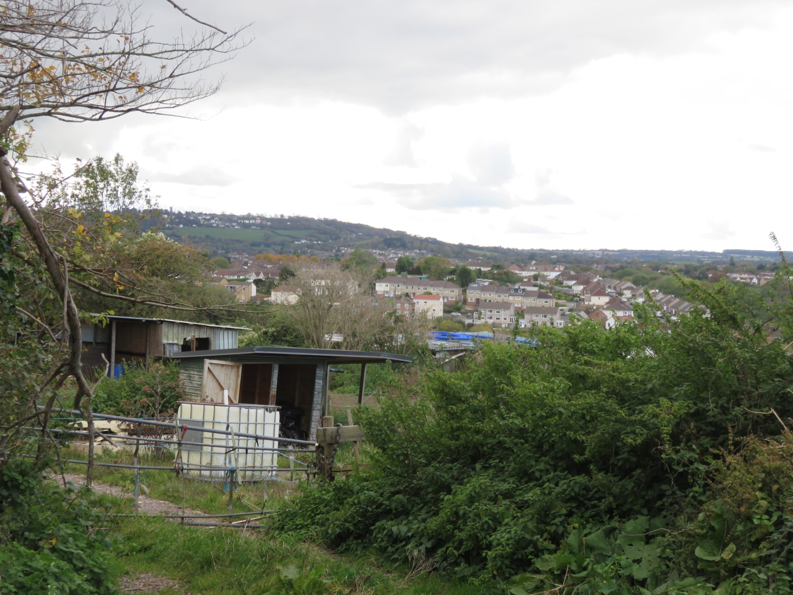 View towards Dundry from Nover's Hill
