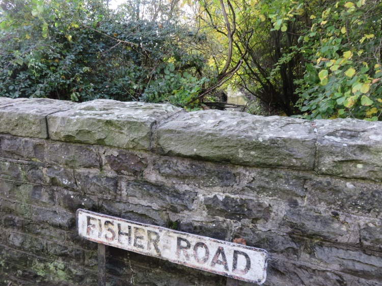 Crossing the Warmley Brook at Fisher Road