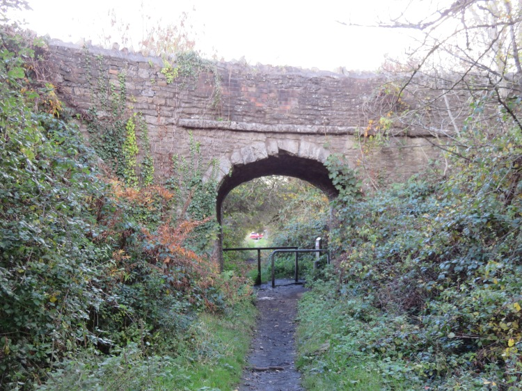 The bridge over the old tramway at Norman Road