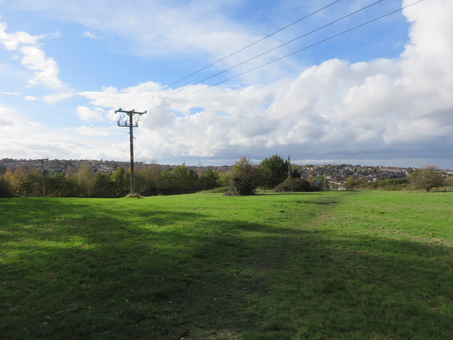 At the top of Siston Hill