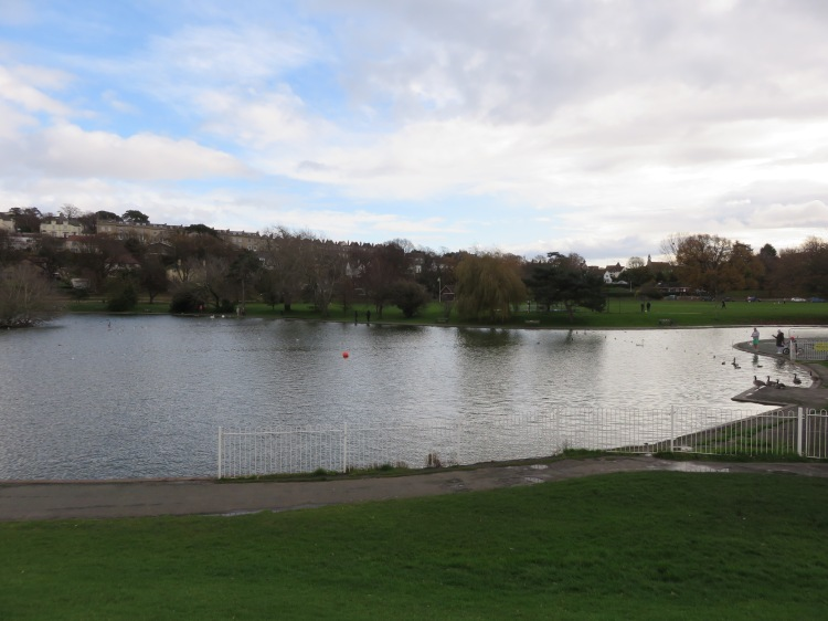 The Lake Grounds from Esplanade Road