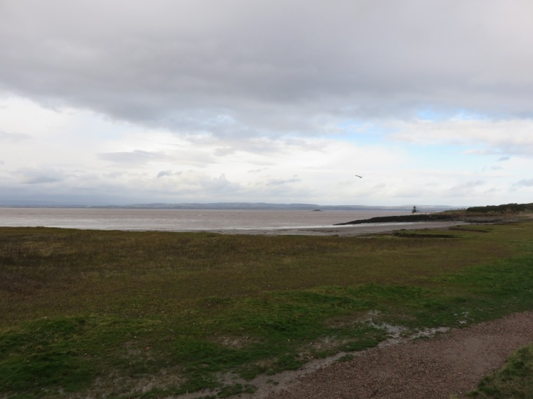The Severn Estuary and Battery Point from Esplanade Road