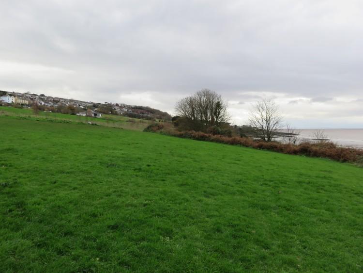 The coast path at Kilkenny Fields