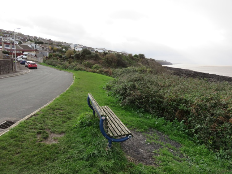 The bench at the end of the route