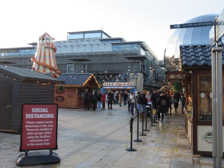Seasonal attractions at Millennium Square