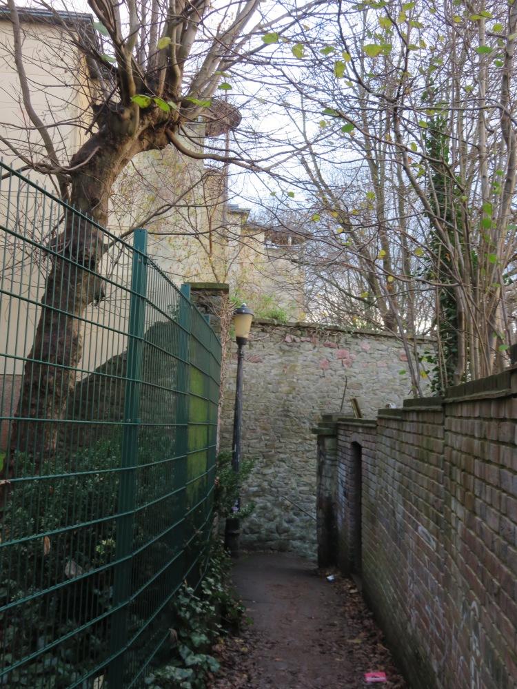 Tucked-away Goldney Lane, Clifton