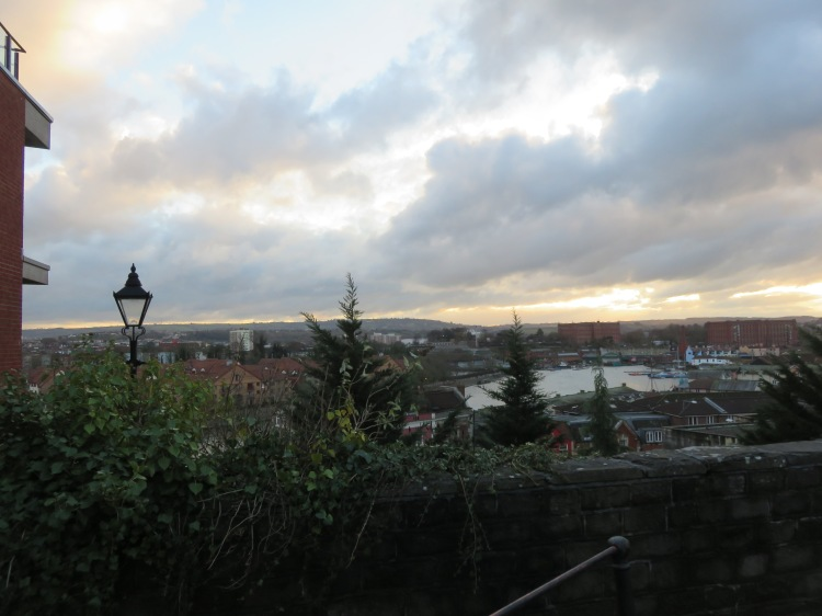 The view from Church Lane, Clifton Wood