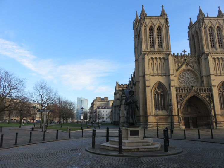 Bristol Cathedral and College Green