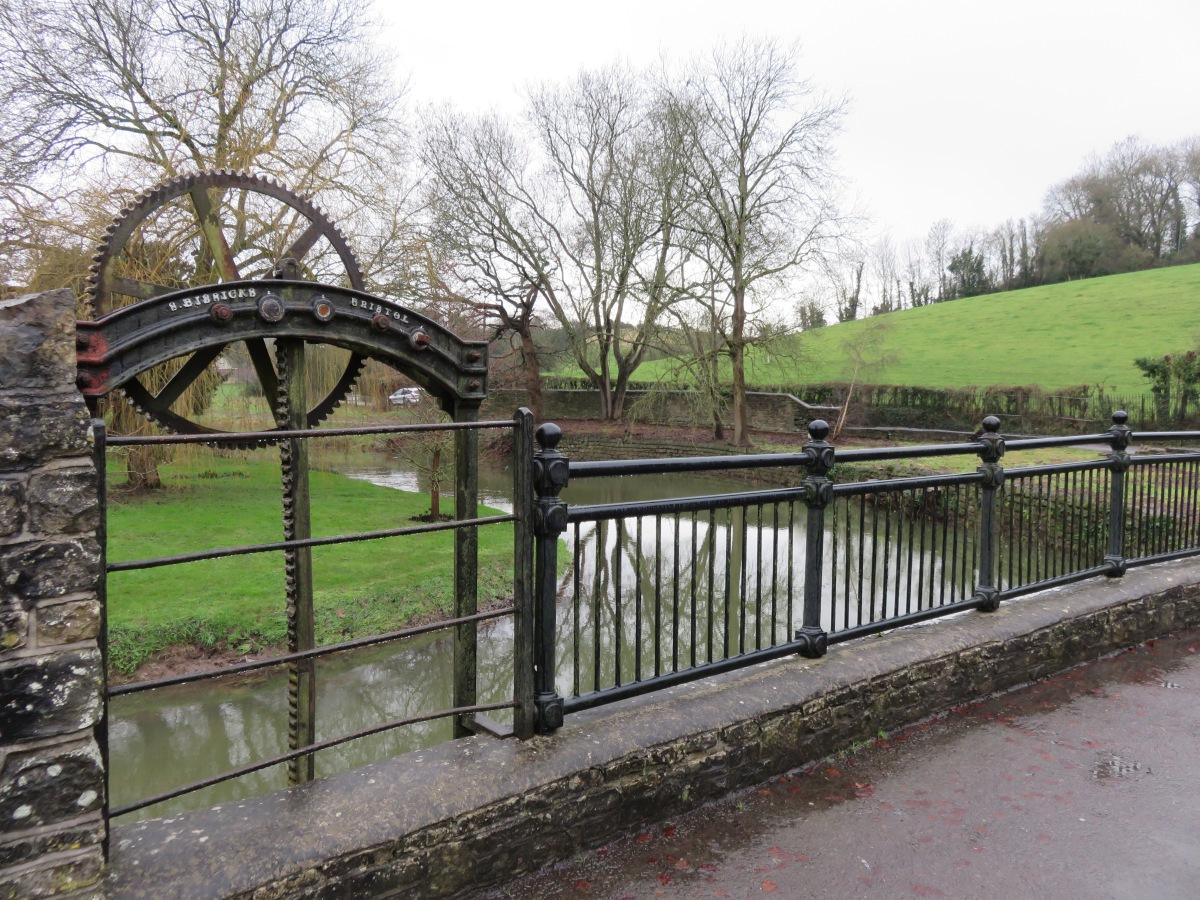 Crossing the River Chew at Chewton Keynsham