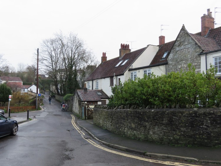 Historic cottages at Dapps Hill