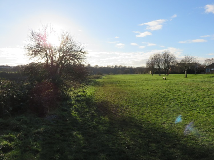 The Avon riverside at Shirehampton