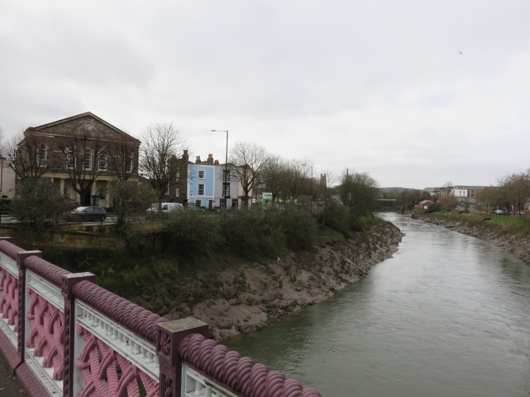 Zion House and the New Cut from Bedminster Bridge