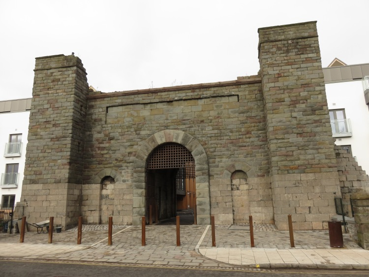 Remains of Cumberland Road Gaol