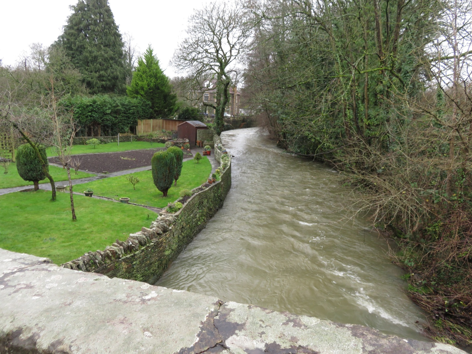 The River Frome at Hambrook