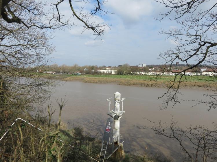View across the River Avon to Shirehampton
