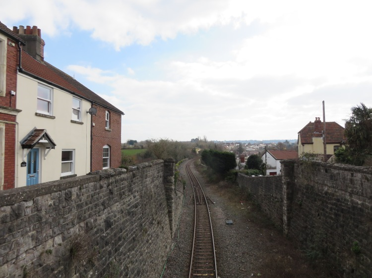 View from the Myrtle Hill railway bridge