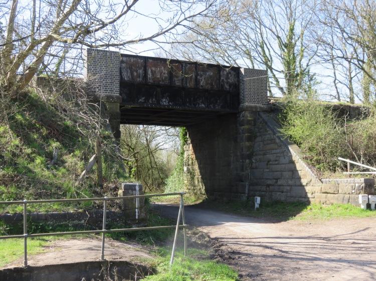 Moorhouse Lane railway bridge