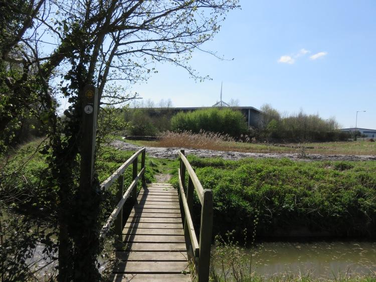 Take the footpath off Moorhouse Lane