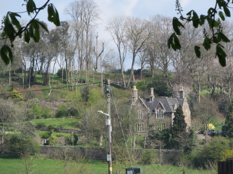 Distant view to The Old Vicarage
