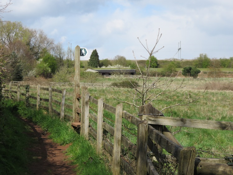 Climb the stile next to the Motorway junction