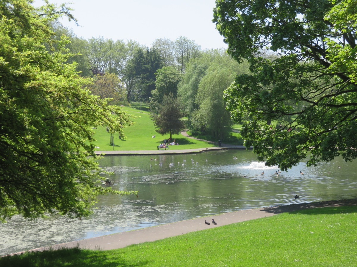 St. George's Park lake